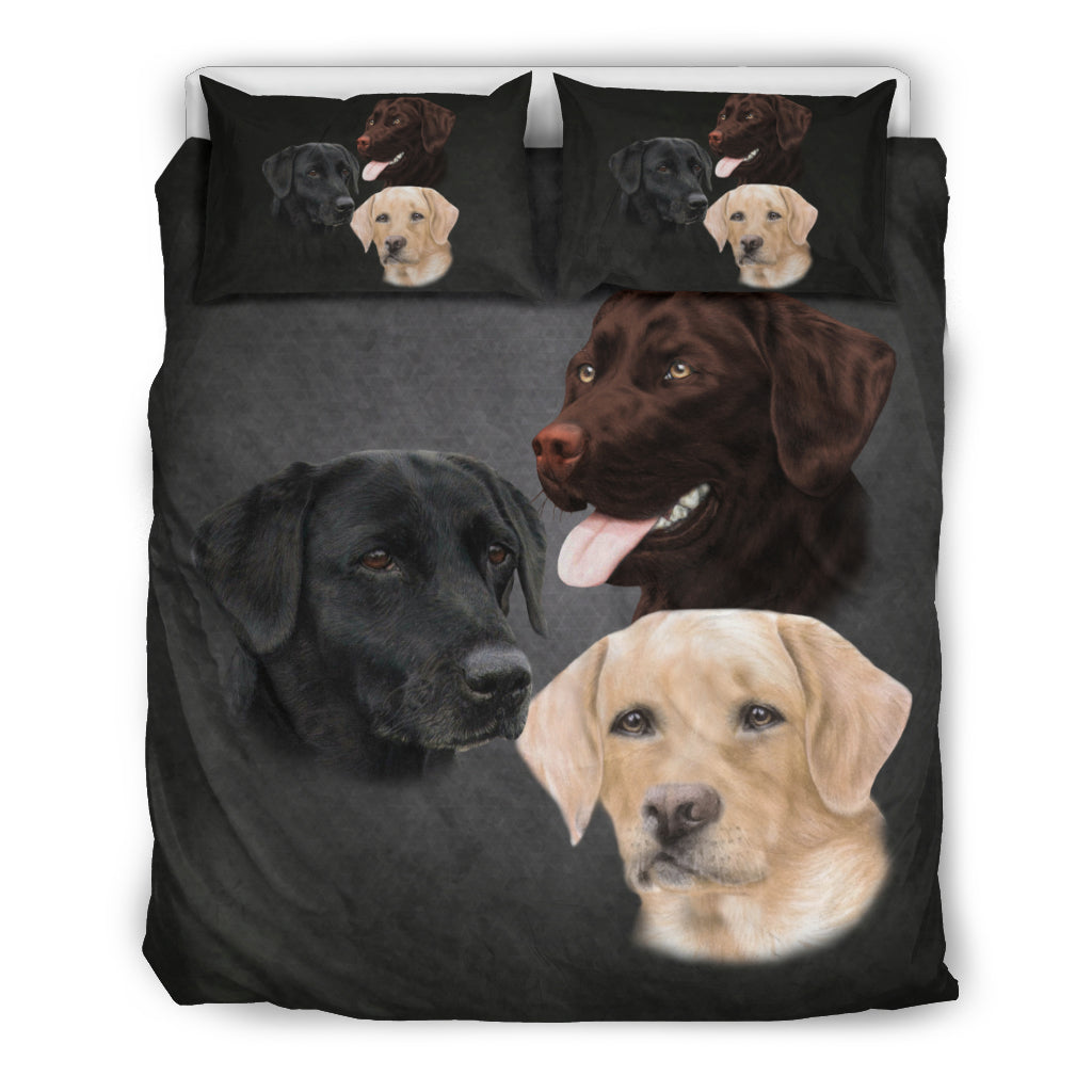 Lab Breed Bedding Set Wiggle Decor