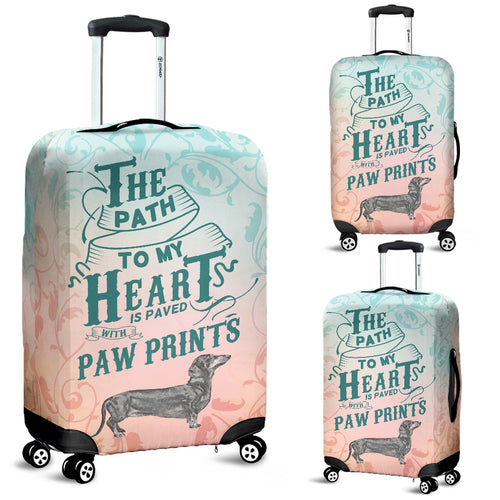 Path to My Heart (Dachshund) Luggage Cover