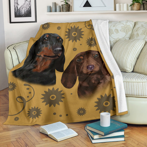 Dachshund Breed Premium Blanket