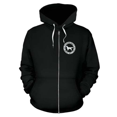 Golden Mom Zip-Up Hoodie