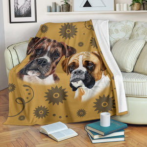 Boxer Breed Premium Blanket