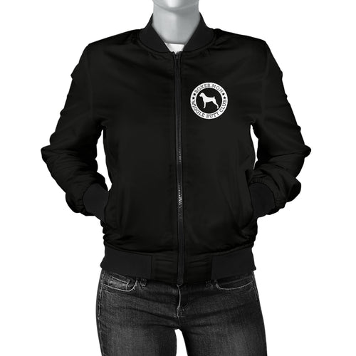 Boxer Mom Women's Bomber Jacket