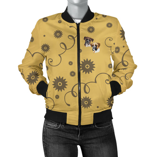 Boxer Breed Women's Bomber Jacket