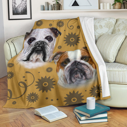 Bulldog Breed Premium Blanket