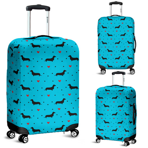 Dachshund Love Luggage Cover