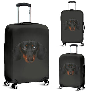 Dachshund Face Luggage Cover