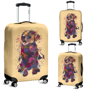 Labrador Retriever Portrait Luggage Cover