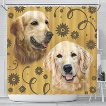 Golden Breed Shower Curtain