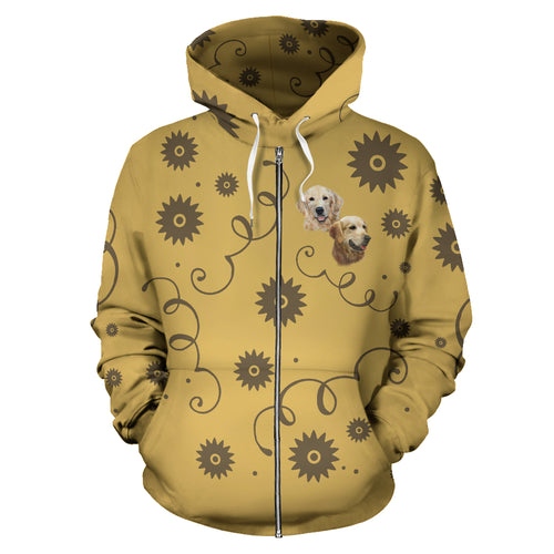 Golden Breed Zip-Up Hoodie