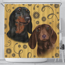 Dachshund Breed Shower Curtain