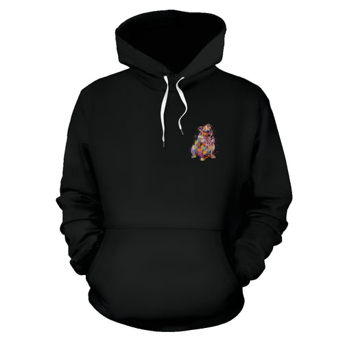 English Bulldog Portrait Hoodie