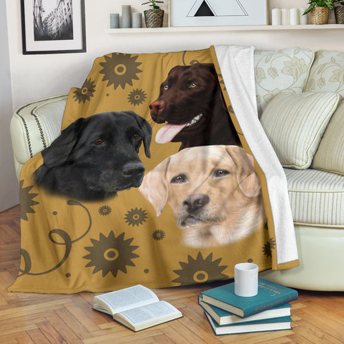 Labrador Retriever Breed Premium Blanket