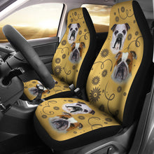 Bulldog Breed Car Seat Covers