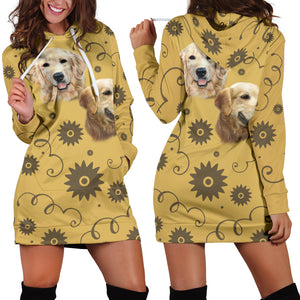 Golden Breed Hoodie Dress