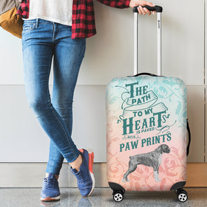 Path to My Heart (Boxer) Luggage Cover