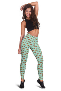 Dachshunds & Pineapples Leggings