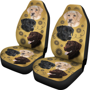 Lab Breed Car Seat Covers
