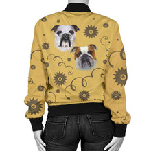 Bulldog Breed Women's Bomber Jacket