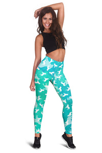 Labrador Retriever Aqua Leggings