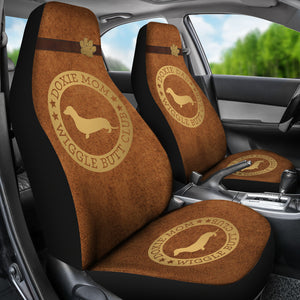 Doxie Mom & Dad Car Seat Covers