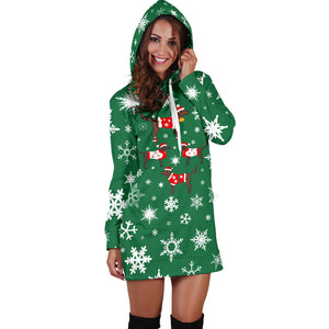 Lab Xmas Hoodie Dress