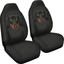 Dachshund Face Car Seat Covers