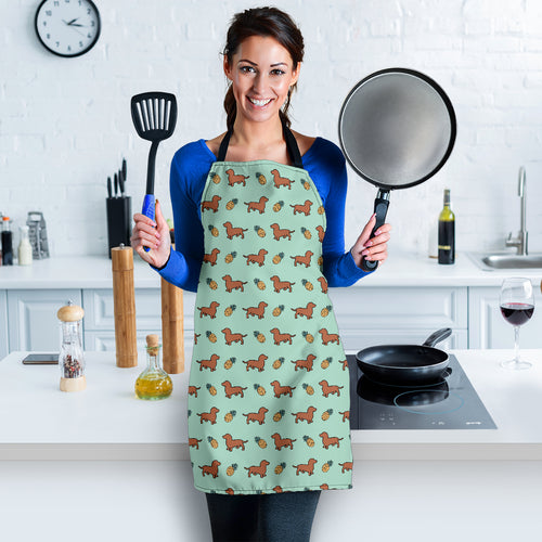 Dachshunds & Pineapples Apron