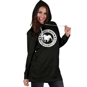 Bulldog Mom Hoodie Dress