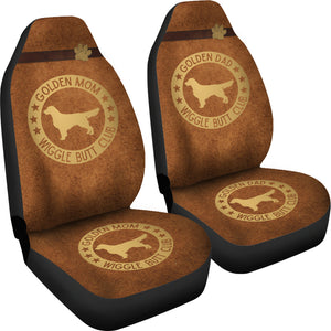 Golden Mom & Dad Car Seat Covers