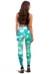 Bulldog Aqua Leggings
