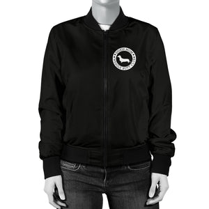 Doxie Mom Women's Bomber Jacket