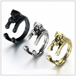 Retro Boxer Adjustable Ring