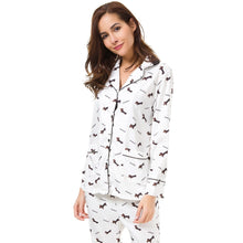 Dachshund Lover Long Sleeve Pajamas