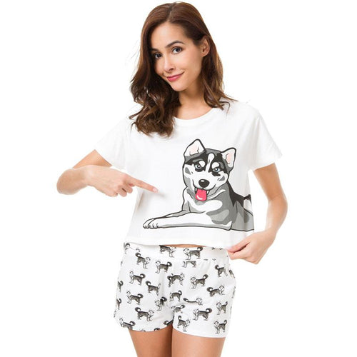 Husky Lover Women's Pajamas
