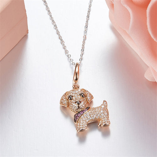 925 Sterling Silver Yellow Lab Necklace