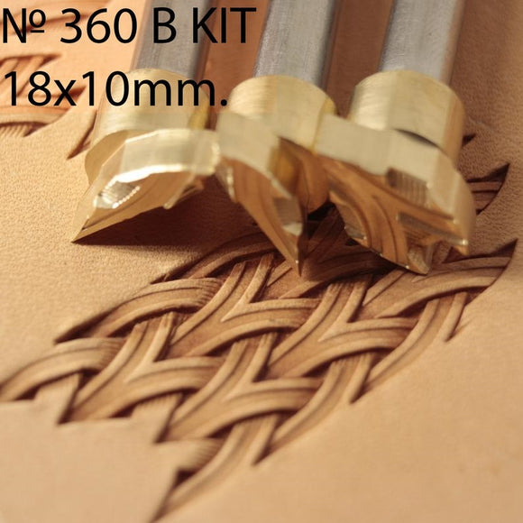 Leather Stamp Tool - #360 B KIT