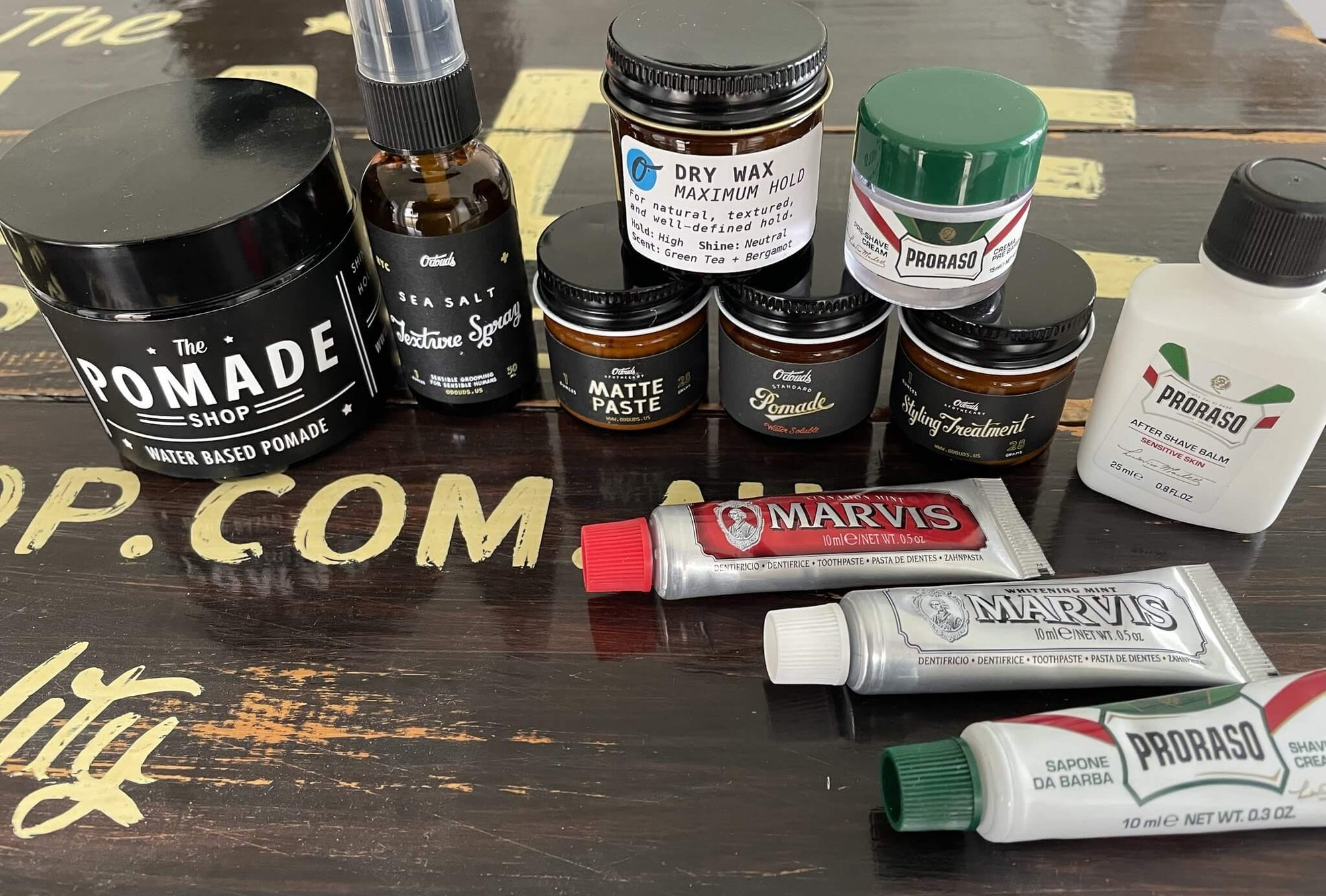 Grooming Sample Packs, the best way to try new grooming products