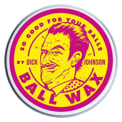 DICK JOHNSON BALL WAX-The Pomade Shop