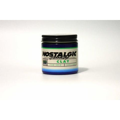 Nostalgic Grooming Redwood Clay Water Based Pomade-The Pomade Shop