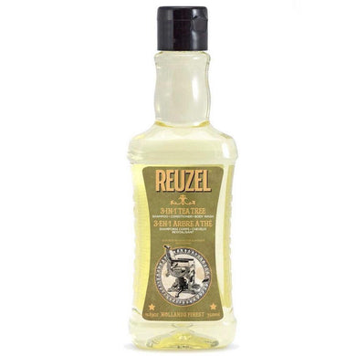 Reuzel 3-in-1 Tea Tree Shampoo Conditioner Body Wash-The Pomade Shop