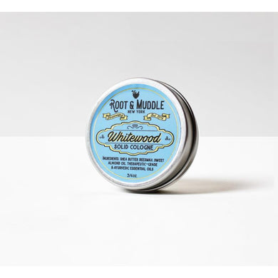 Root & Muddle Solid Cologne - Whitewood-The Pomade Shop