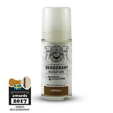 Load image into Gallery viewer, THE BEARDED CHAP CLASSIC SPICE DEODORANT-The Pomade Shop