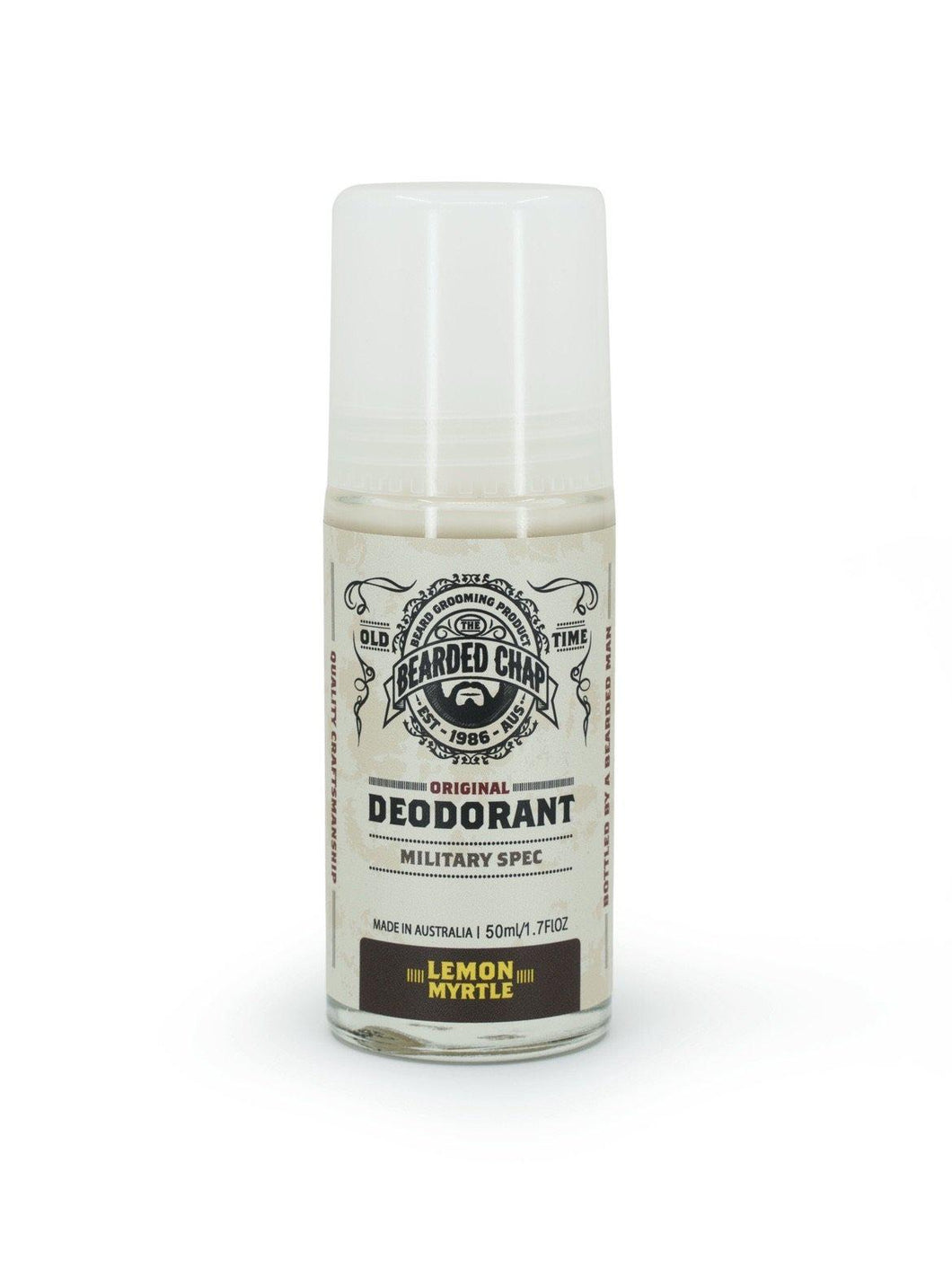 THE BEARDED CHAP LEMON MYRTLE DEODORANT-The Pomade Shop