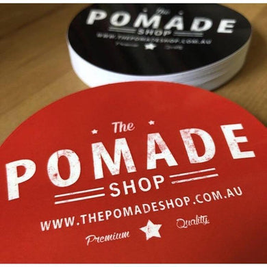 The Pomade Shop Sticker-The Pomade Shop