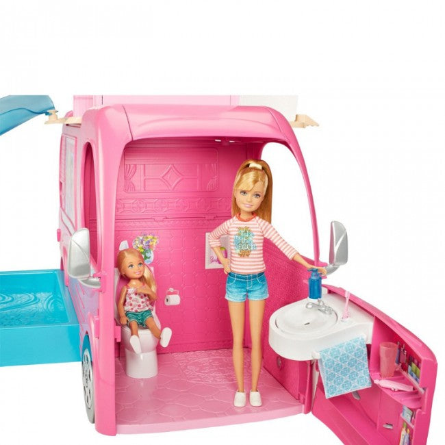 Barbie pop-up  kamper