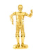 3D metalna maketa - STAR WARS Robot C-3PO gold
