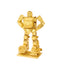 3D metalna maketa - Transformers Bumblebee gold
