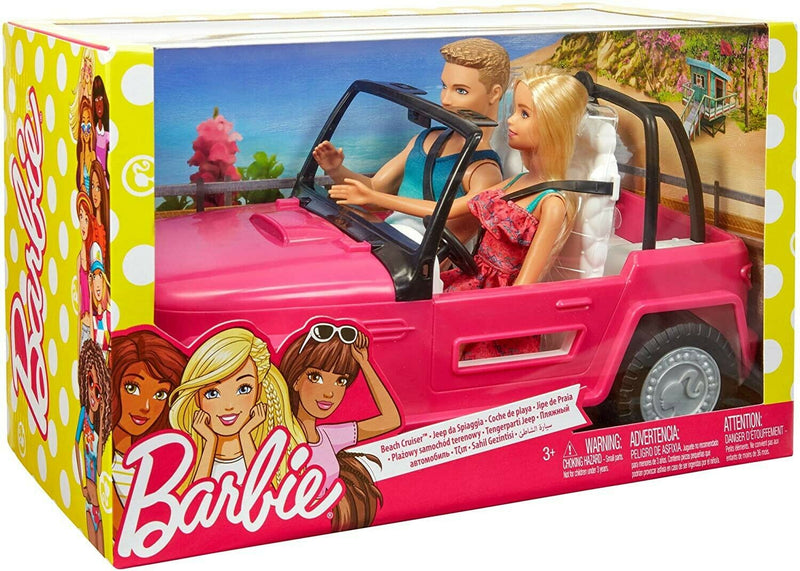 Barbie lutka i Ken beach cruiser