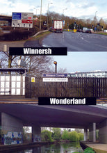 Winnersh Wonderland Reading Greetings Card