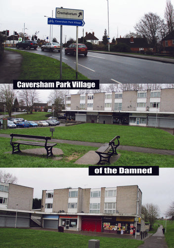 Caversham Park Village of the Damned Reading Greetings Card